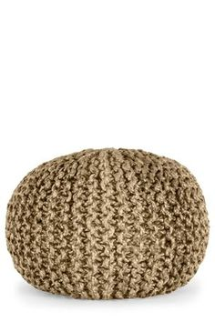 Living Room Knitted Jute Pod