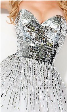 What it would be like to wear a disco ball... Fabulous