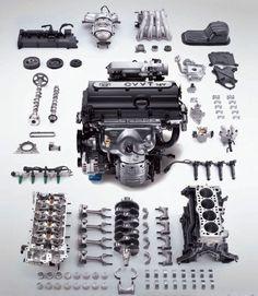 diesel engine parts diagram - Google Search | Mechanic stuff | Pinterest | Diesel engine, Engine ...
