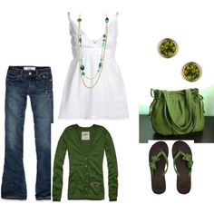 St patty's day, created by tfm106 on Polyvore