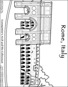 COLORING SHEETS FOR ITALY  26 Italy Coloring Pages Italycoloring