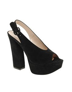 Chinese Laundry First Stop Suede Slingback Shoes