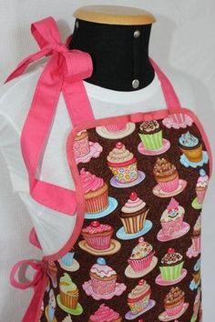 #avental #cupcake