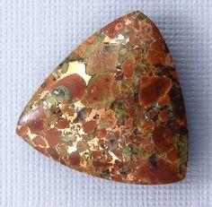 Native Copper Cabochon  Hand Cut Freeform by bluerivergems on Etsy, $32.00