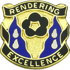 485th Chemical Bn Unit Crest (Rendering Excellence)