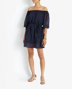 Love Sam EXCLUSIVE Off The Shoulder Dress | Shop IntermixOnline.com