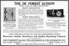 Early Radio receiver - AUDION