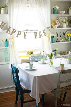 Easter table!