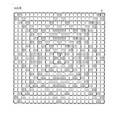 Delicadezas en crochet Gabriela: Cojines de ensueño incluye 3 modelos a elección Crochet Motif Patterns, Crochet Lace Edging, Crochet Diagram, Crochet Chart, Crochet Doilies, Crochet Square Blanket, Crochet Blocks, Crochet Squares, Crochet Granny