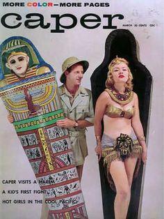 Caper magazine, March 1959