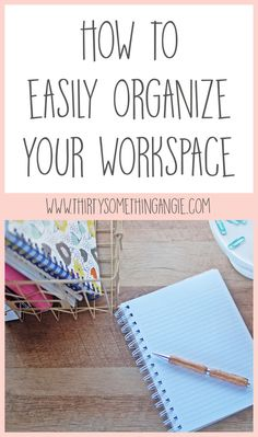 I don't know about you, but I work a lot better when I have an organized workspace. This allows me to come to work focused and calm, which is a great thing! Work From Home Business, Work From Home Moms, Make Money From Home, Fridge Organization, Organization Hacks, Organizing Tips, Organising, Home Business Opportunities, Working Mom Tips