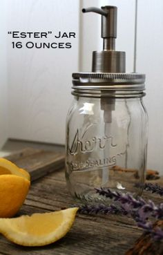 Mason Jar Soap Dispenser | Hurd & Honey | Bourbon & Boots