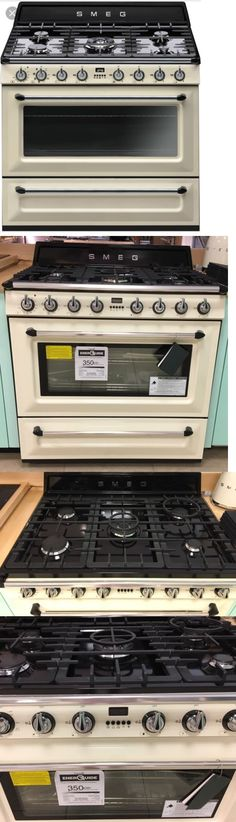 Ranges And Stoves 71250: Smeg Tru 90P 36 Victoria Dual Fuel Stainless Steel  Range In