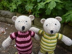 Yellow, Pink and Sparkly: Tutti Frutti Bears