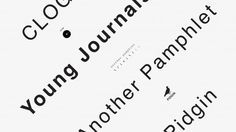 Young Journals Symposium  Another Pamphlet, CLOG, Pidgin  Moderated by Log editor and founder Cynthia Davidson