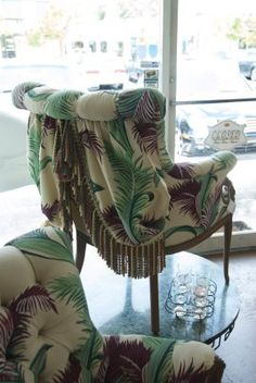 How inventive is this upholstery detail?