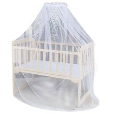 Mosquito Bar Nursery Baby Cot Bed Toddler Bed Or Crib Canopy Home Mother Mosquito Net White P15