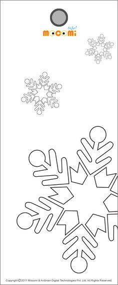 Download and print our cool #SnowFlake #printablebookmark for kids and use it to bookmark your text books, note books or other books. More such bookmark article for kids, visit: http://mocomi.com/fun/artscrafts/printables/bookmarks/