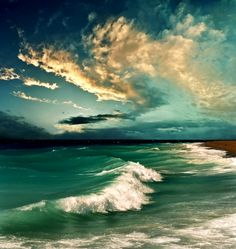 Wave on green sea Photo by Katarina Stefanovic on Getty Images
