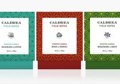 caldrea branding + packaging by eight hour day #caldrea #packaging #eighthourday