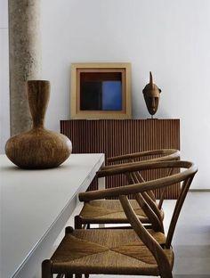 Modern Home Decor Interior Design Luxury Homes Interior, Luxury Home Decor, Home Decor Trends, Home Decor Styles, African Interior Design, Asian Interior, Modern Interior Design, Room Interior, Wabi Sabi