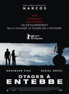 Découvrez l'affiche de Otages à Entebbe