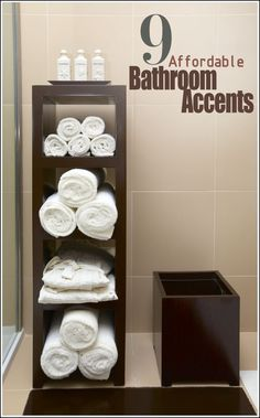 9 Affordable Bathroom Accents