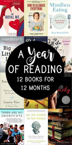 Whether you have a goal to read more this year or want to start a book club, this list of books provides you with one suggestion each month and is the perfect place to begin.