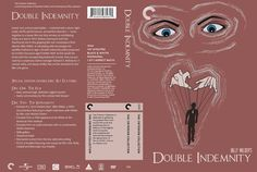 Criterion-style DVD cover, Double Indemnity