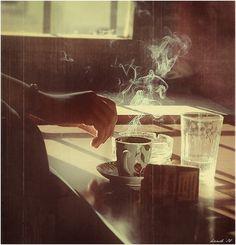 Cigarettes & Coffee #vintage #photograph