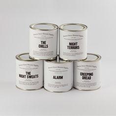 Hoxton Street Monster Supplies : Range of Children's Tinned Fear