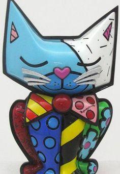 Romero Britto - Cat.