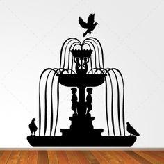 Fontanário- Decoração em vinil Autocolante decorativo e Papel de parede - www.iconstore.pt