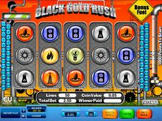Black Gold Rush - http://freeslots77.com/black-gold-rush/ - A drilling rig introduces you to free Black Gold Rush online slot game. The game developed by Skillonnet runs on 5 reels and 50 paylines. The reels are set within an oil drilling facility. The symbols of this slot machine game are related to oil exploration activities including rig, gushes and...