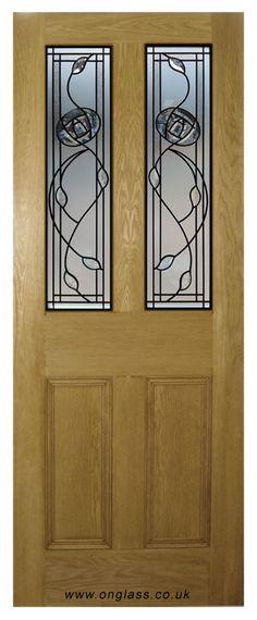 Charles Rennie Mackintosh glass design