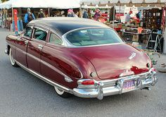 American Classic Cars, Old Classic Cars, Vintage Trucks, Old Trucks, Hudson Car, Hudson Hornet, Cars Usa, Unique Cars, Hot Cars