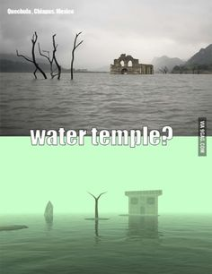 Zelda Water Temple in Mexico? Ancient Mexican Temple Reappears As Water Levels Drop