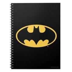 Customizable Spiral Photo Notebook made by FUJIFILM. Personalize it with photos & text or shop existing designs! Black Joker, Black Batman, Batman Logo, Superhero Logos, Batman Batman, Robber Halloween Costume, Back To School For Teens, Oval Logo, Batman Wallpaper