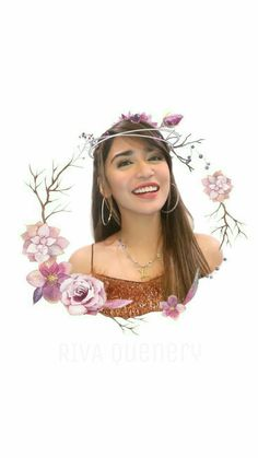 Flower Crown of Riva Quenery😊💖 Boyfriend Names, Flower Crown, My Idol, Bangs, Bb, Wallpapers, Artist, Quotes, Flowers