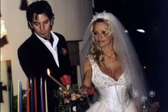 The Baywatch babe married the Motley Crue drummer after they'd been dating for just four days
