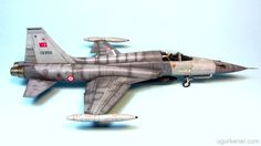 Turkish Air Force F-5A-2000 Kinetic 1/48 | PLASTIC AIRCRAFT MODELLING