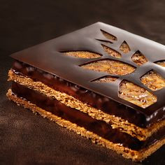 Mille feuille chocolat, hmm