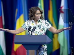 Michelle Obama called on young African leaders to change traditional attitudes and beliefs that harm girls and women. Malala Yousafzai, Michelle Obama, Boys, Girls, Boy Or Girl, Leadership, Attitude, Globe, Washington