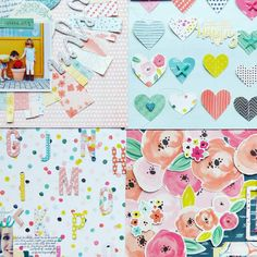 Layout sneaks for Fancy Free by @paigeevans | @pinkpaislee!