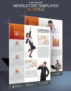 Business newsletter ideas modern design by innovative for Modern newsletter design