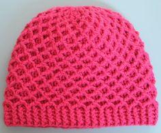 Zimní háčkovaná čepice