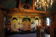 St. Herman Orthodox Church in Wasilla, Alaska by jimforest, via Flickr