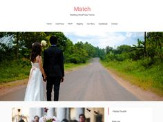Match Lite is an elegant and high quality free wedding WordPress theme. It is specially designed to organize and share the wedding event and moments easily. Fierce Marriage, Love And Marriage, Perfect Marriage, Wedding Quotes, Wedding Images, Strasbourg, Free Wedding, Perfect Wedding, Got Married