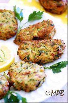 Mamma Papera — Frittelle greche o polpette di zucchine