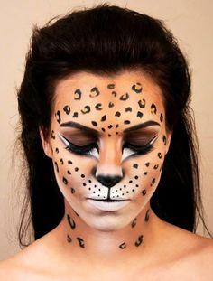 DIY Halloween Makeup Looks - Halloween Make up und Kostme - Animal Makeup, Cat Makeup, Cat Costume Makeup, Flapper Makeup, Devil Makeup, Fairy Makeup, Mermaid Makeup, Prom Makeup, Halloween Makeup Looks